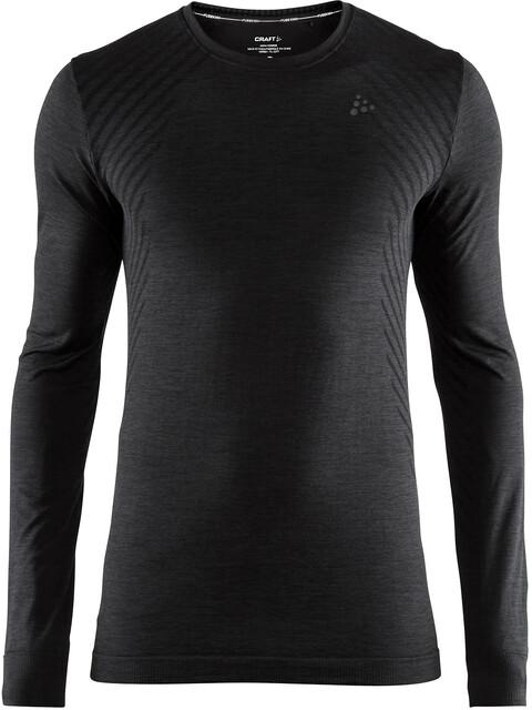 Craft Fuseknit Comfort Round-Neck LS Shirt Men black